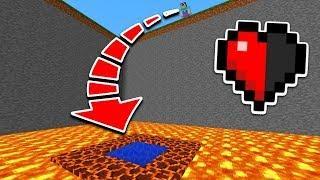 КАК ВЫЖИТЬ НУБУ С ПОЛОВИНОЙ СЕРДЕЧКА в Майнкрафте? Minecraft мультики Майнкрафт троллинг