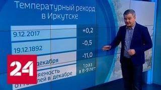 """""""Погода 24"""": в Сибири оттепель, на Южном Урале - рекордные морозы - Россия 24"""