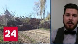 Новый оползень в Киргизии: под землей оказались десять домов в двух поселках