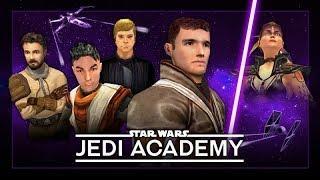 STAR WARS: Jedi Academy – The Movie / All Cutscenes 【1080p HD】