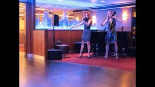 Duo violin cello. lounge music. EliteDuoREVOLUTION