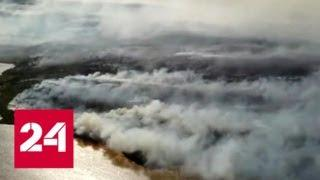 В Якутии из-за природных пожаров объявлен режим чрезвычайной ситуации - Россия 24