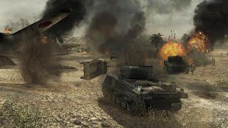 Call of Duty ТИХОЕ ПОЛЕ - ТАНКОВАЯ РАЗВЕДКА Прохождение игры Call of Duty