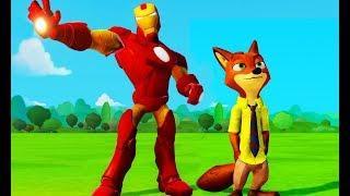 Мультики про машинки для мальчиков Зверополис новые детские мультфильмы 2017 Видео игры для детей