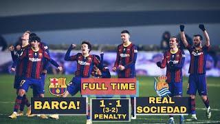 Барселона 0-0 Реал Сосьедад | Проход Дембеле